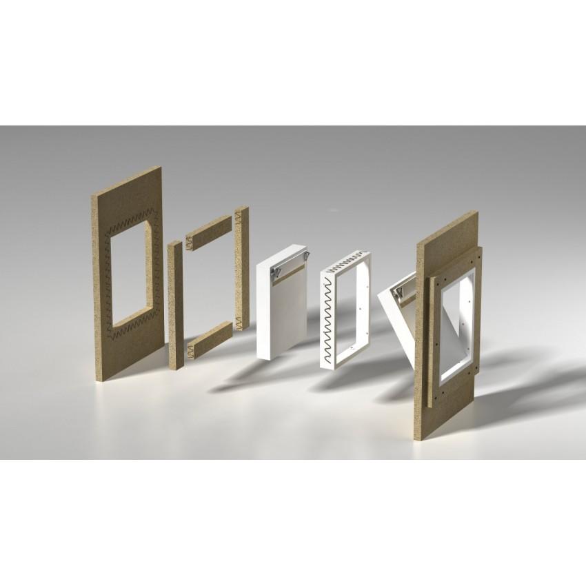SILADOOR kamīnu revīzijas lūkas un durvis