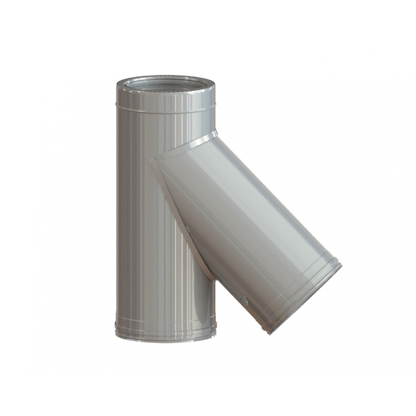 Dubultizolēta dūvada trejgabals 45°
