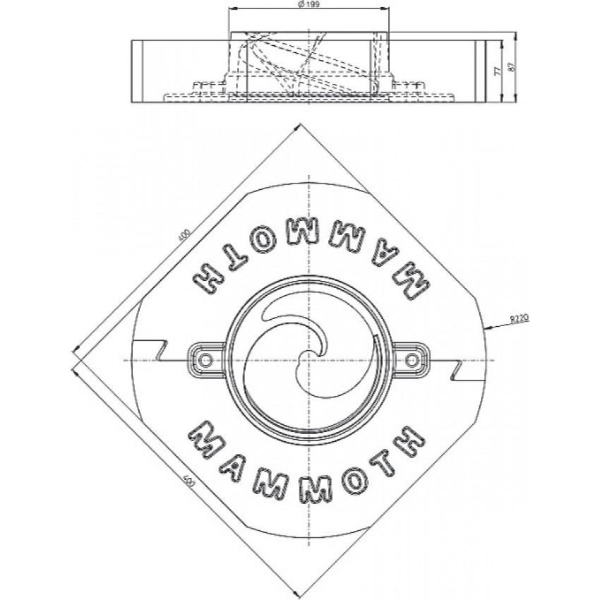 Romotop MAMMOTH akumulācijas gredzeni DYNAMIC