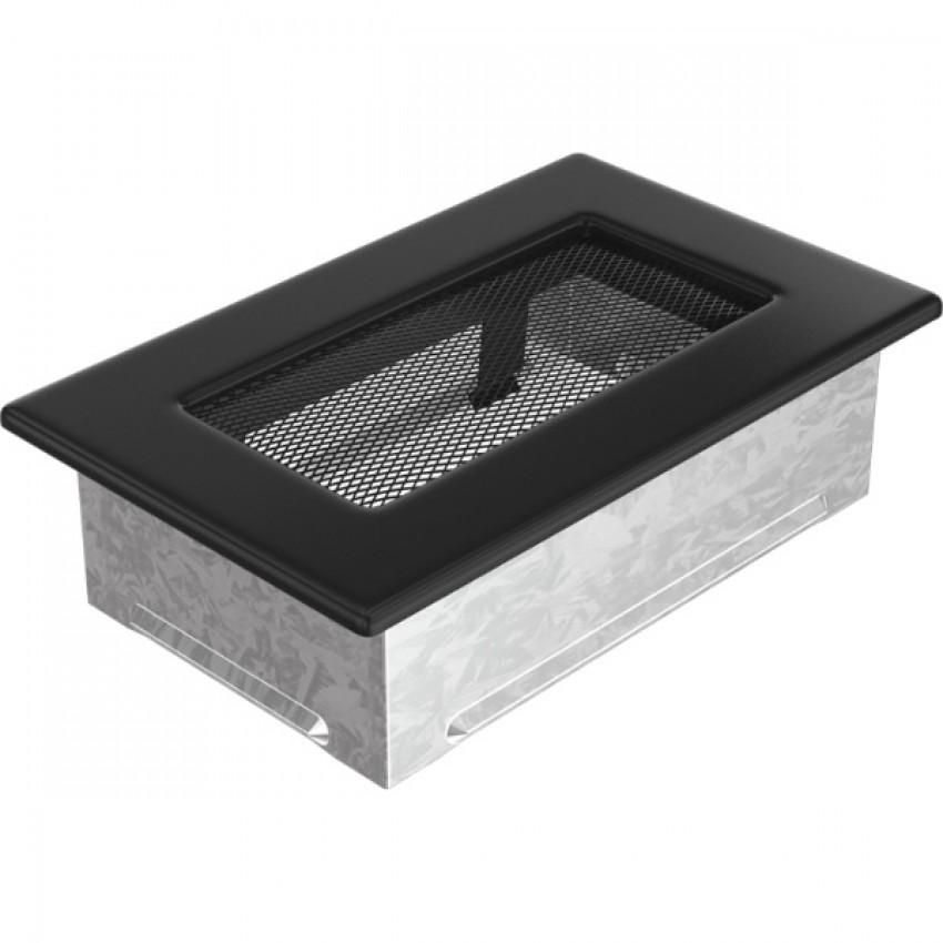11 x 17 melna kamīnu gaisa restīte