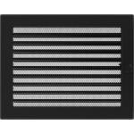 Kamīnu karstā gaisa restīte (melna žalūzija) 22x30