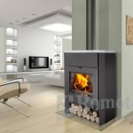 Stoves Romotop Riano 03 W with central heating