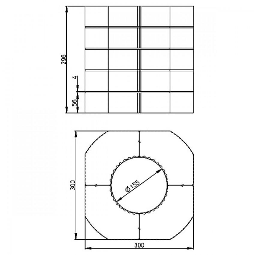 Romotop akumulācijas gredzenu komplekts Romotop HEAT