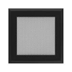 Kamīnu karstā gaisa restīte oskar (melna) 17x17