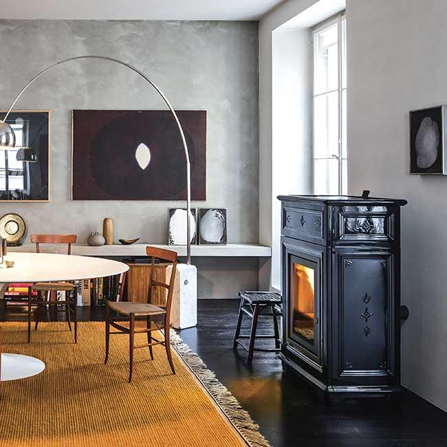 Tile stove sergio leoni sissy p i the highest quality handmade - Poele a bois sergio leoni ...