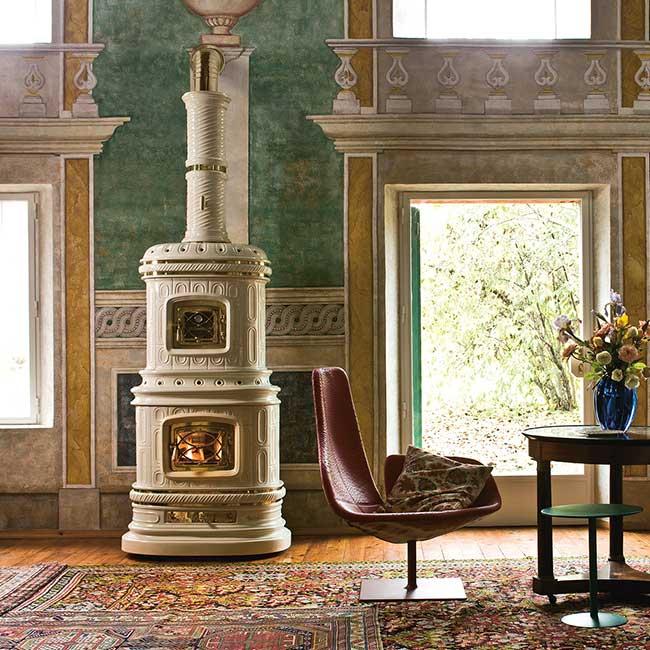 Tile Stove Sergio Leoni Viennese The Highest Quality