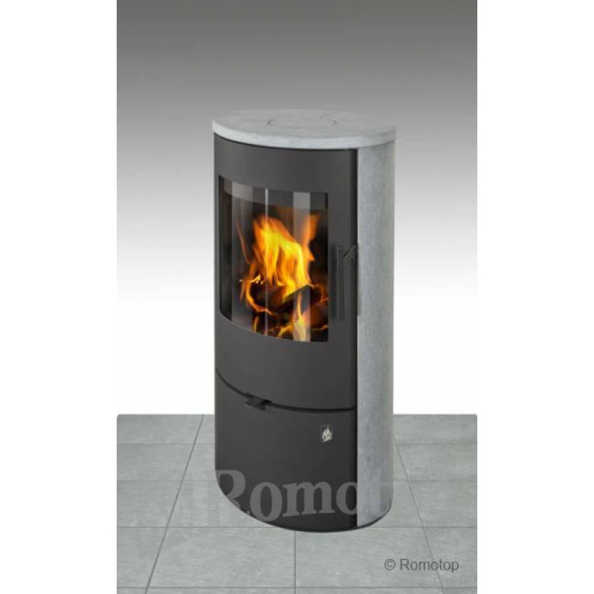 Romotop krāsniņas EVORA 02 (akmens sāni, virsma)