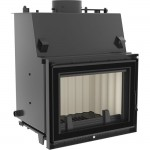 Fireplace central heating Kratki insert ZUZIA 19kW Deco