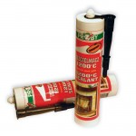 Heat resistant mastic
