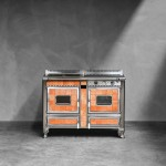 Wood-burning cookers J.Corradi Borgo Antico 120 lge