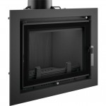 Fireplace Kratki insert ERYK 12kW Deco (with frame)