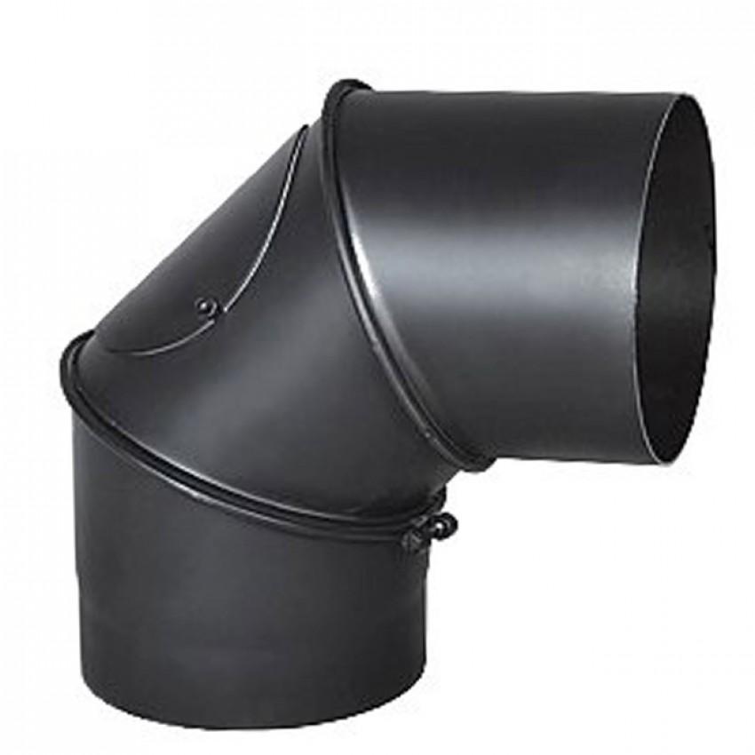 Dūmvadu pieslēgumu caurules 90 grādu leņķis