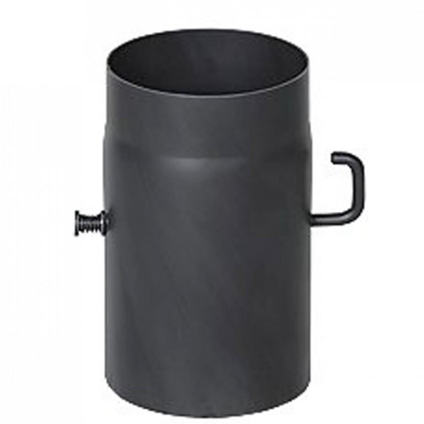 Dūmvadu pieslēgumu caurules ar šīberi