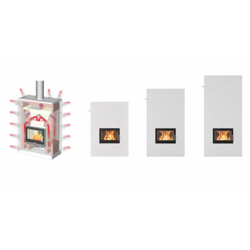 Salzburg XL siltuma akumulācijas kamīns