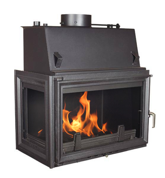 Fireplace Central Heating Kratki Insert Oliwia 22kw With