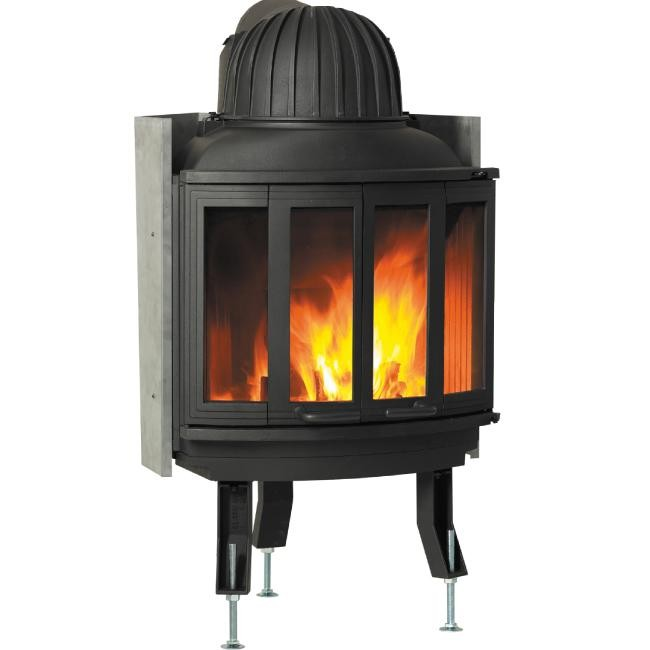Fireplace Insert Nordpeis N25 Classic With CB Combustion